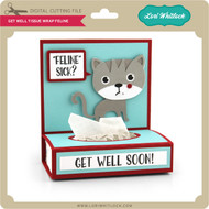Get Well Tissue Wrap Feline