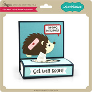 Get Well Tissue Wrap Hedgehog