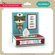 Get Well Tissue Wrap Otter