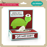 Get Well Tissue Wrap Turtle
