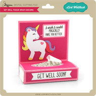 Get Well Tissue Wrap Unicorn