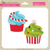 Santa Stops - Cupcakes