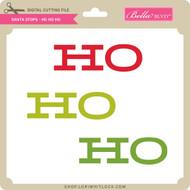 Santa Stops - Ho Ho Ho