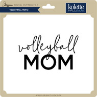 Volleyball Mom 2