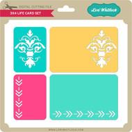 3x4 Life Cards Set