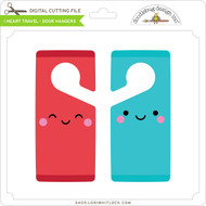 I Heart Travel - Door Hangers