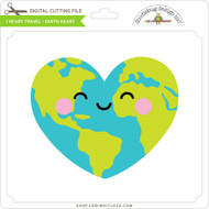 I Heart Travel - Earth Heart