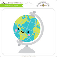 I Heart Travel - Globe