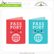 I Heart Travel - Passport