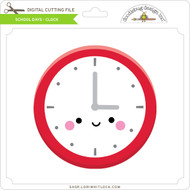 School Days - Clock