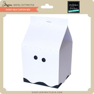 Ghost Milk Carton Box