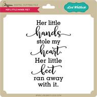 Her Little Hands Feet