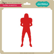Football Silhouette 2