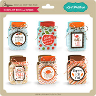 Mason Jar Box Fall Bundle