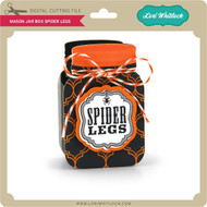 Mason Jar Box Spider Legs