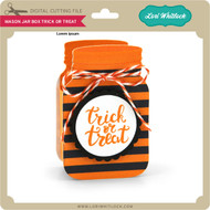 Mason Jar Box Trick or Treat