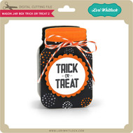 Mason Jar Box Trick or Treat 2