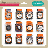 Mason Jar Box Halloween Bundle