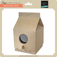 Birdhouse Milk Carton