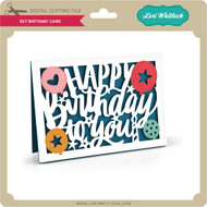 5x7 Birthday Card