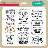 Thankful Faith Home Phrase Bundle