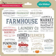 Farmhouse Phrase Bundle 4