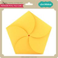 Pentagon Petal Fold Card