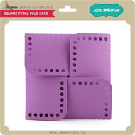 Square Petal Fold Card