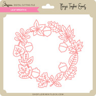 Leaf Wreath 6