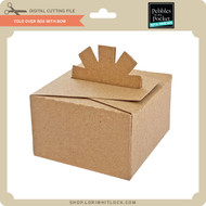Fold Over Box with Bow
