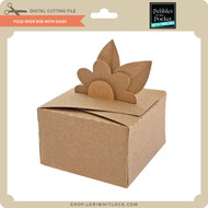 Fold Over Box With Daisy