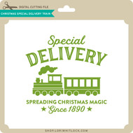 Christmas Special Delivery Train