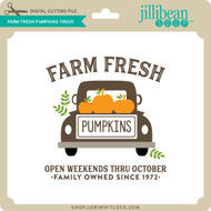 Farm Fresh Pumpkins Truck