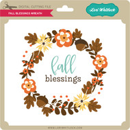 Fall Blessings Wreath