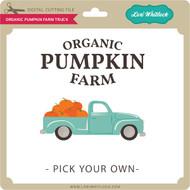 Organic Pumpkin Farm Truck