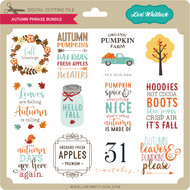 Autumn Phrase Bundle