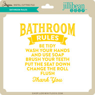 JB Bathroom Rules 2