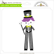 Candy Carnival - Skeleton Boy Tall