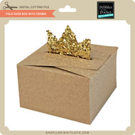 Fold Over Box with Crown