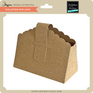 Scallop Box With Latch