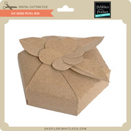 SIx Sided Petal Box
