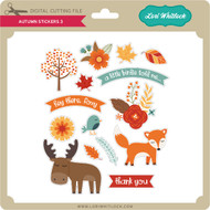 Autumn Stickers 3