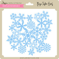 Snowflake Background 5