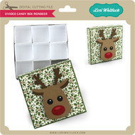 DIvided Candy Box Reindeer