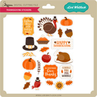 Thanksigiving Stickers