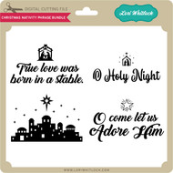Christmas Nativity Phrase Bundle