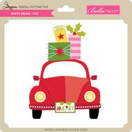 Santa Squad Car