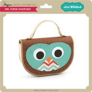 Owl Purse Favor Box