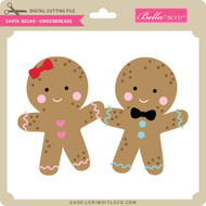 Santa Squad Gingerbreads