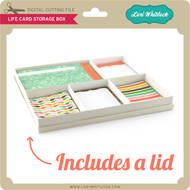 Life Card Storage Box